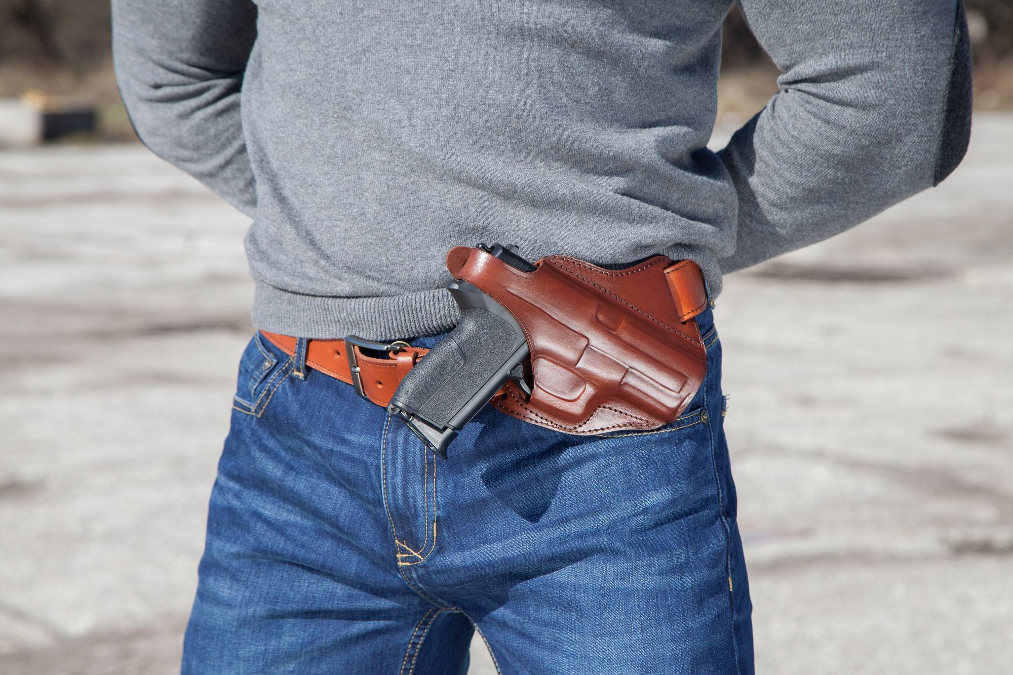 Leather Shoulder Cowboy Holsters maintence guidelines