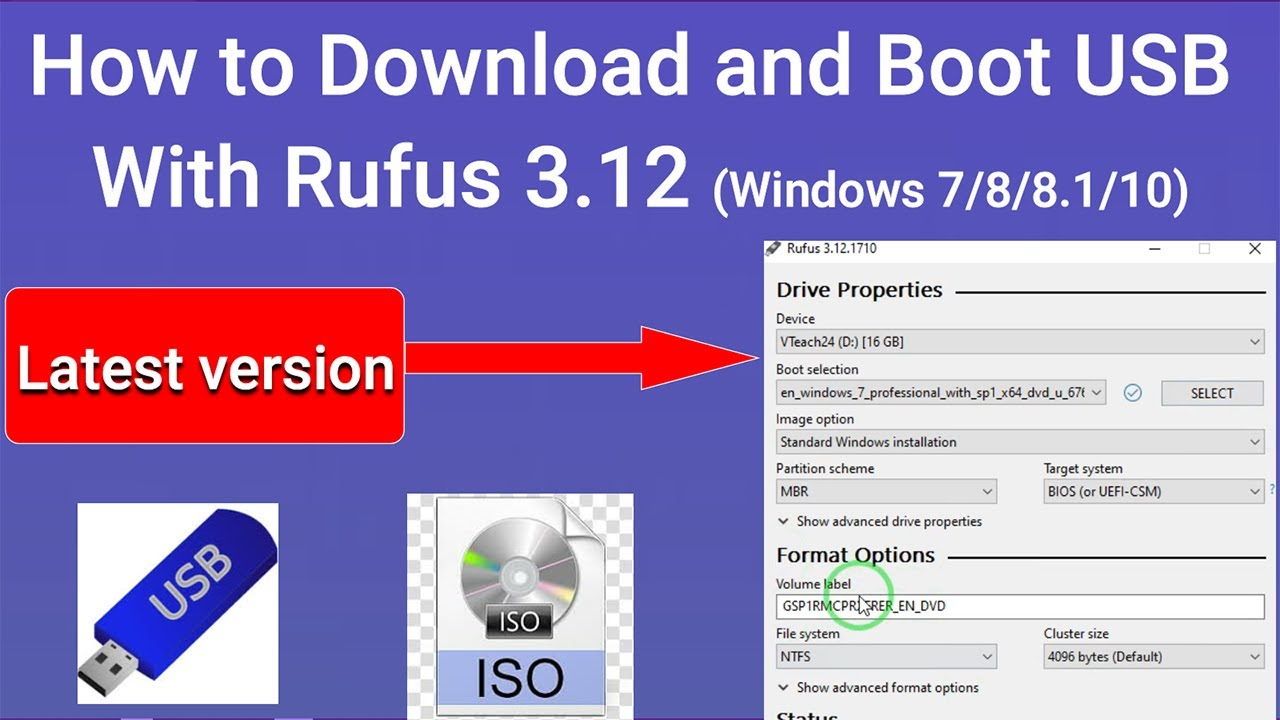 Download the Rufus application without problems or mishaps
